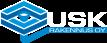 USK Rakennus Oy logo